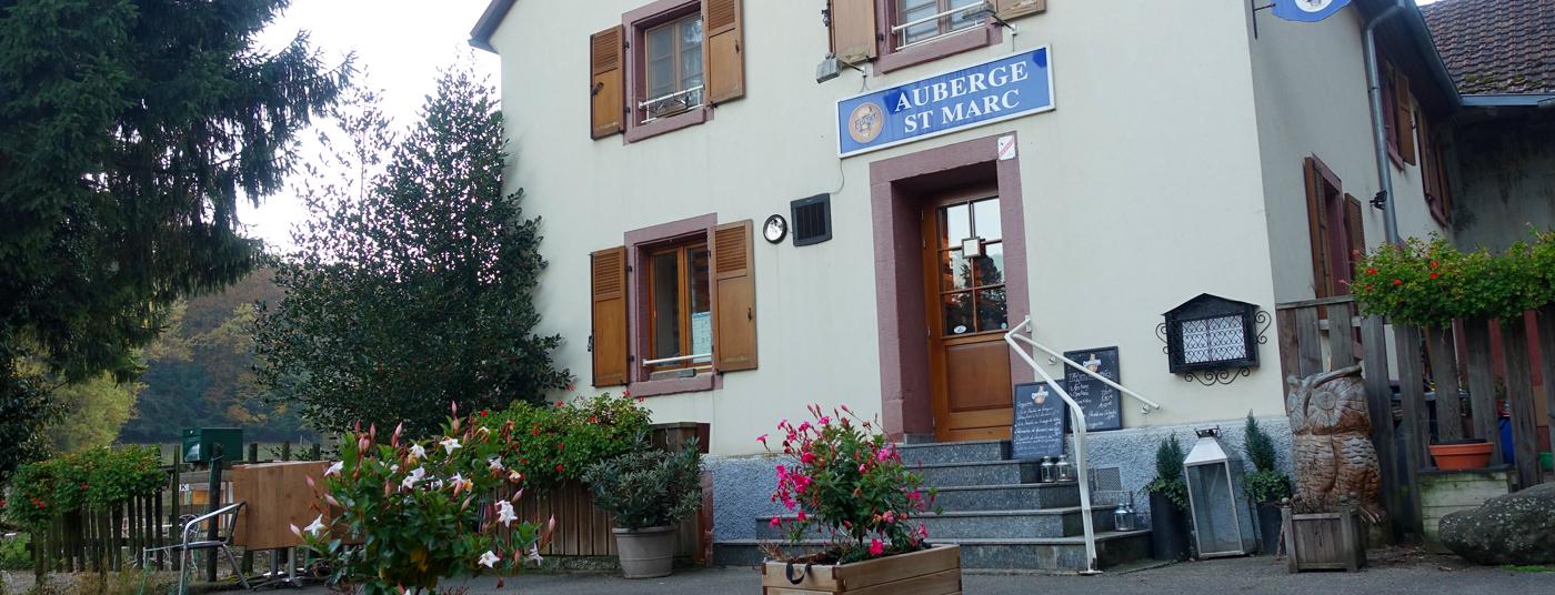 L'auberge Saint Marc - le restaurant