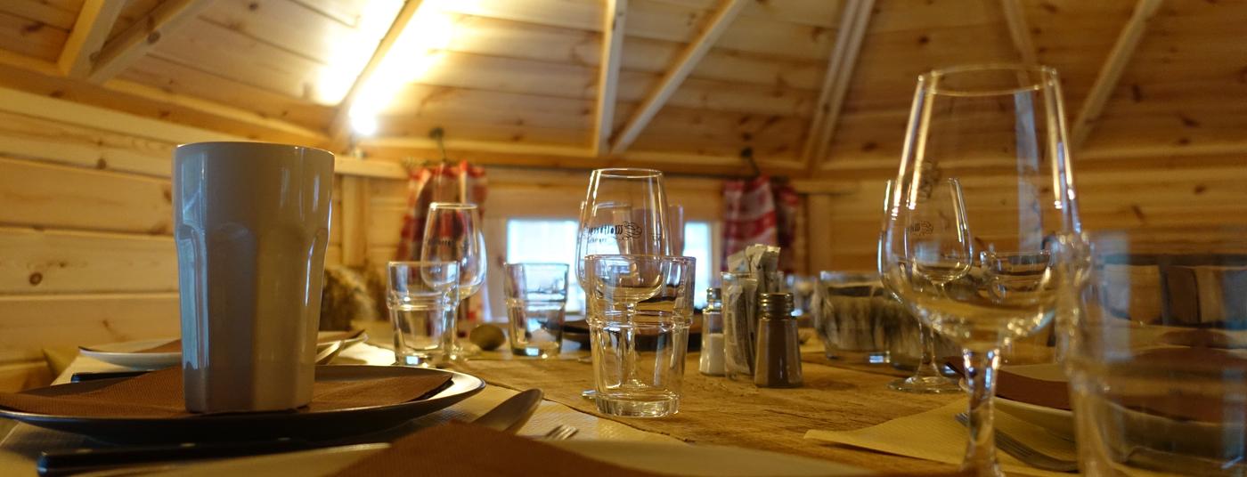 La table est prête ... Pour vous recevoir !